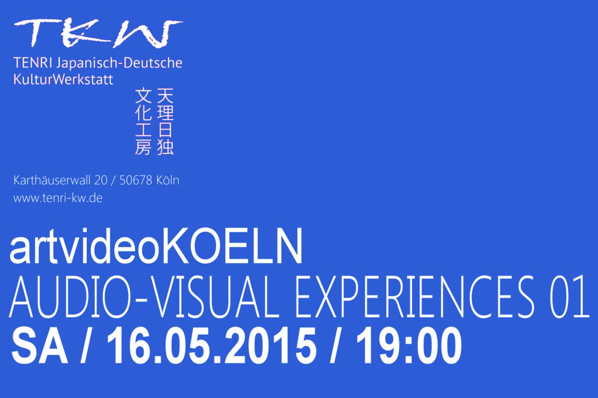 artvideoKOELN – audiovisual experiences 01
